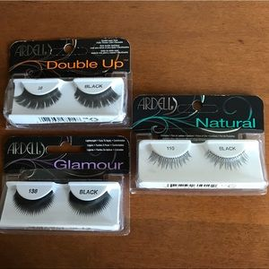⭐️5/$25⭐️ Three sets of lashes by Ardell - New